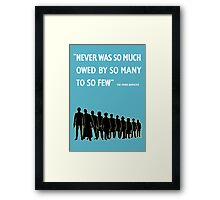 Debt to the Doctor Framed Print
