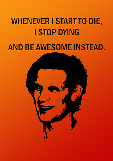 11th Doctor feels awesome. by ofthebaltic