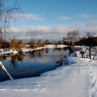 The winter river by svidro