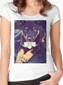 Smart Boy Women's Fitted Scoop T-Shirt