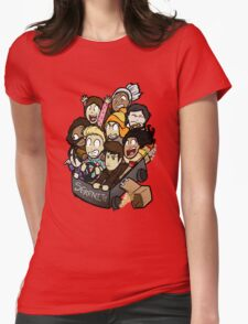 Little Darn Heroes Womens Fitted T-Shirt