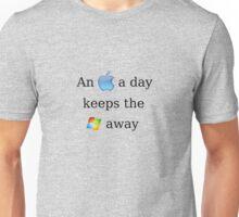 Apple Vs. Windows Unisex T-Shirt