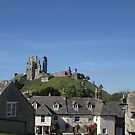 Corfe Village, Dorset, England by MagsWilliamson