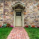 Exterior of a Beautiful Stone Cottage by Michael Mill