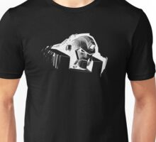Angry Robot White Unisex T-Shirt