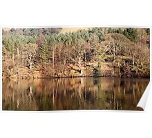 Winter Reflections - Ladybower Poster
