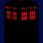 Evil TARDIS by ofthebaltic
