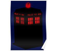Evil TARDIS Poster