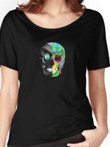 Vector Skull Women's Relaxed Fit T-Shirt