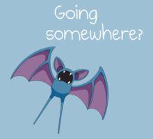 Zubat - Going Somewhere? One Piece - Short Sleeve