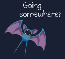 Zubat - Going Somewhere? One Piece - Short Sleeve