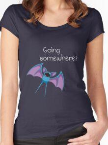 Zubat - Going Somewhere? Women's Fitted Scoop T-Shirt
