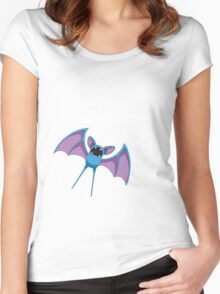 Zubat - Going Somewhere? Women's Fitted Scoop T-Shirt