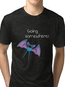 Zubat - Going Somewhere? Tri-blend T-Shirt