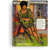 In Every TRUE Woman Canvas Print