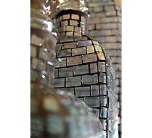 Mosaic Glass Decanter Photographic Print