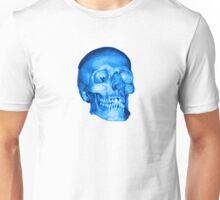 Blue Skull Unisex T-Shirt