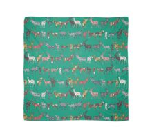 peacock green spice deer Scarf