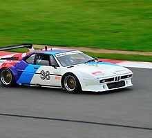 BMW M1 No 38 by Willie Jackson