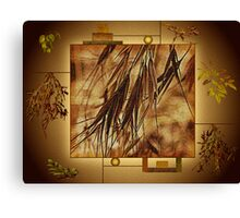 Surrounded By Friends - Makes The Wall Of Art Complete  Canvas Print