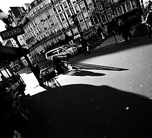 Paris, the shadow of the city by busteradams
