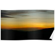 Uldale Common- The Sun Going Down Poster