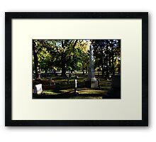 The TombStones Framed Print