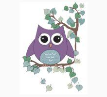 A D Pi owl Kids Tee