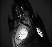 Twenty Past Eight, Manchester Town Hall by Nick Coates