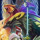 The Dragonmaster by pertheseus