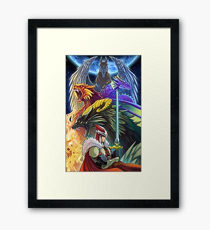 The Dragonmaster Framed Print