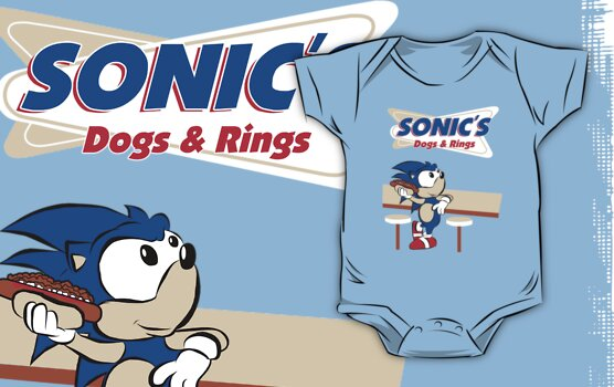 Sonic's Dogs & Rings by thehookshot