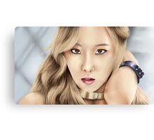SNSD Taeyeon Canvas Print