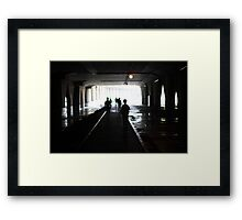 Under the Underpass Framed Print