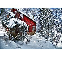 Above the Dorr Farm in Black River NY  Abandoned! Photographic Print
