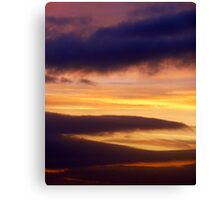 Tequila Sunset Canvas Print