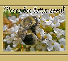Get Well Card - Bumblebee by MotherNature