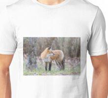 A very friendly red fox Unisex T-Shirt