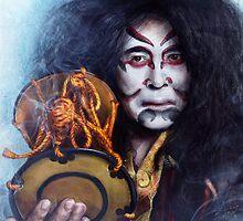 Kabuki Drummer by Przemysław Bródka