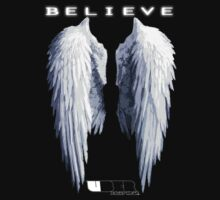 Uber - Believe Wings hoodie by MojoStaplegun