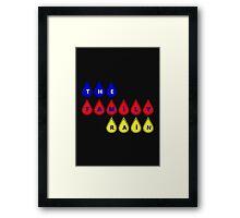 The Family Rain Logo Framed Print