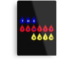 The Family Rain Logo Metal Print