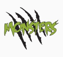 MONSTERS MERCHANDISE ORIGINAL GREEN by monstersmerch