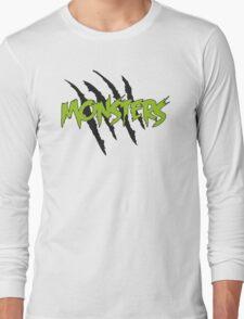 MONSTERS MERCHANDISE ORIGINAL GREEN Long Sleeve T-Shirt