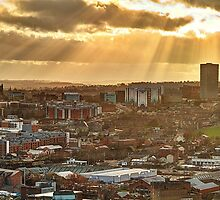 Sheffield Skyline Panorama by Mat Robinson