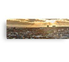 Sheffield Skyline Panorama Metal Print
