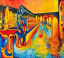 street of colours by pjan3202