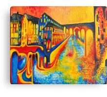 street of colours Metal Print