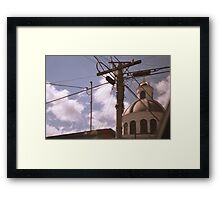 From the Car  Framed Print