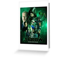 THE GREEN ARROW AWAKENS Greeting Card